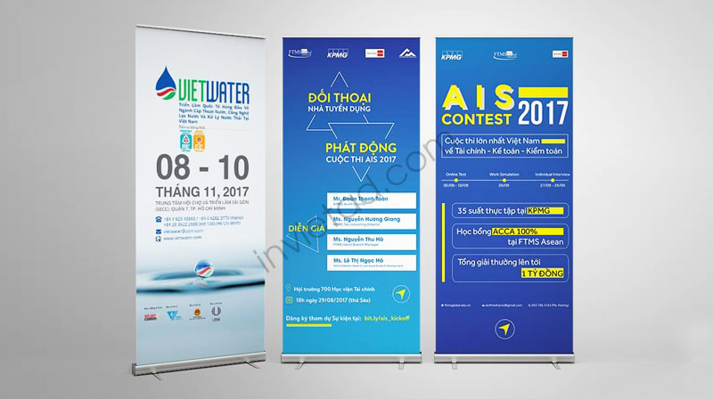 standee banner cuốn